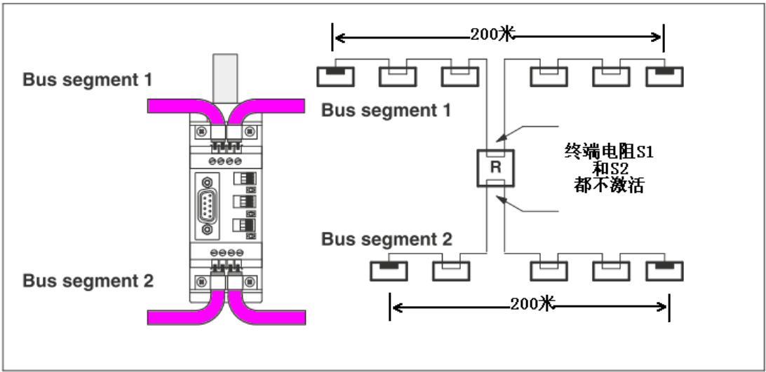 无线信号中继器的电路图