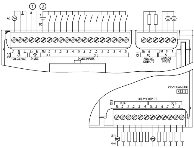 siemens cpu 1214c wiring diagram