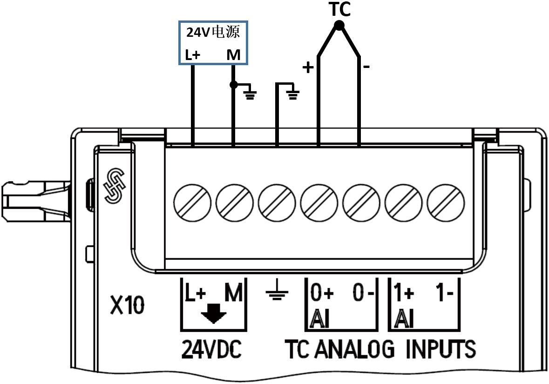 热电偶显示模块电路图