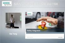 Safety introduction in S7-1200 and S7-1500