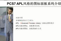 PCS7项目中APL风格的图标面板系统介绍