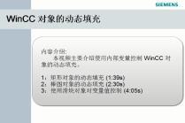 WinCC对象的动态填充