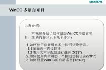 WinCC多语言项目