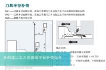 车削基本编程指令及程序操作6-刀尖圆弧半径补偿指令